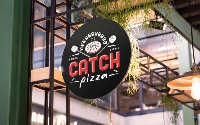 Catch Pizza logo
